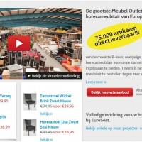 Groothandels in horecameubilair en projectinrichting for Tweedehands meubilair